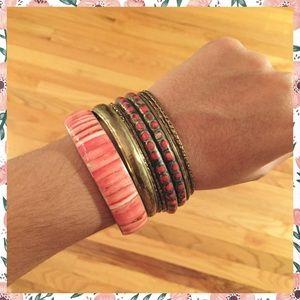Coral Bracelet Sets